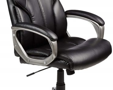 AmazonBasics High Back Executive Office Chair Review